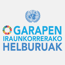 Garapen Iraunkorrerako Helburuen logoa