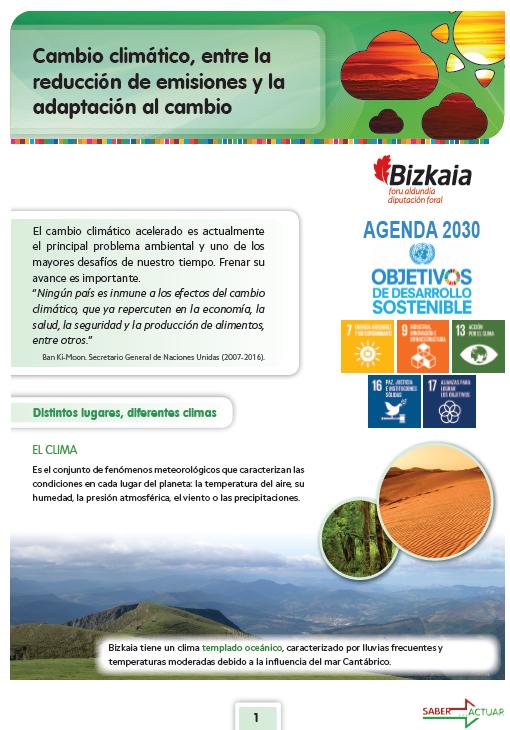 Cambio climático, entre la redución de emisiones y la adaptación al cambio